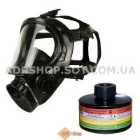 Полнолицевая маска с комбинированным  фильтром