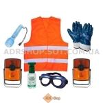 ADR-комплекты для опасных грузов, имеющих класс опасности №  4.2, 5.1, 5.2, 6.2 или 7